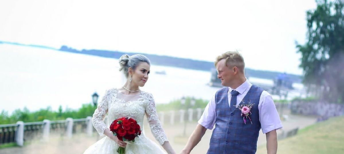 Букет невесты для очаровательных Анны и Евгения