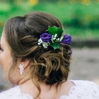 Красивые украшения для волос на свадьбу