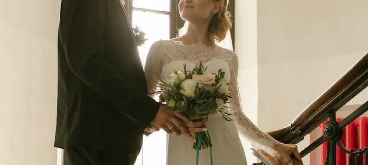 Букет невесты для прекрасной пары