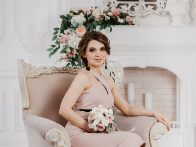 Букет невесты для свадебной фотосессии